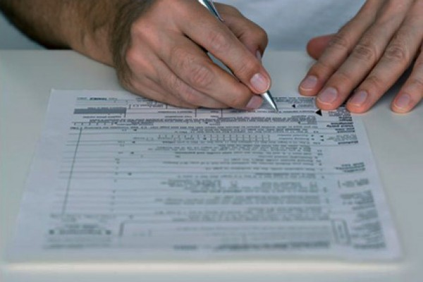 Tax payment forms – now electronically printed!