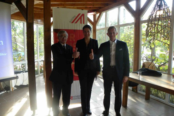 Presentation of AECO office and more with the Austrian Business Comunity